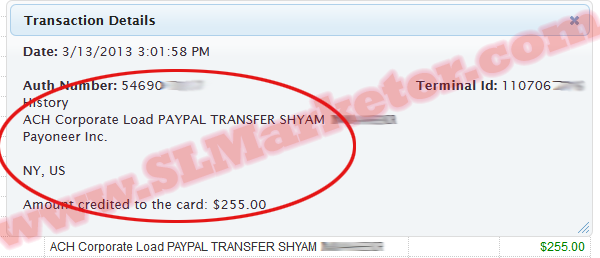 PayPal To Payoneer Transfer Through US Payment Service.