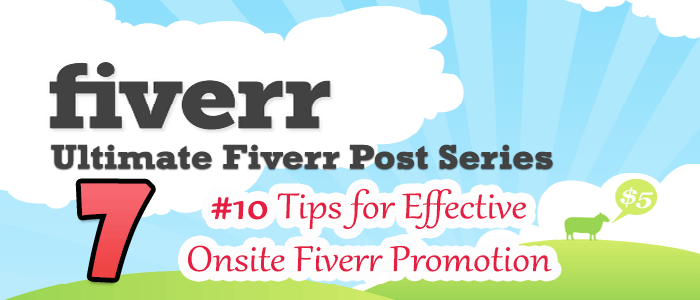 Effective Fiverr Promotion එකක් ගන්න Simple Tips 10ක්