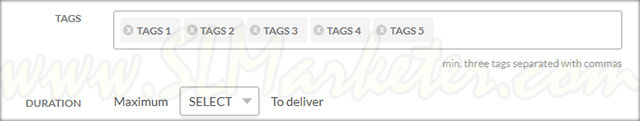 Fiverr Gig Creation Tags Delivery Date