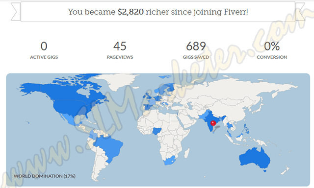 Fiverr V2 Features Sales Analytics Map & Revenue